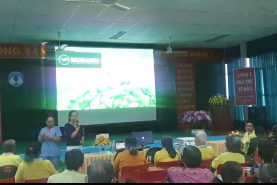 Khổ qua rừng Mudaru tại Hội chợ Nông nghiệp Quốc tế Việt Nam 2019